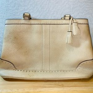 2/$60 Authentic COACH Hamptons shoulder bag. USED.
